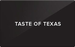Buy Taste of Texas Gift Card