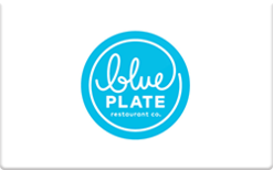 Sell Blue Plate Restaurant Company Gift Card