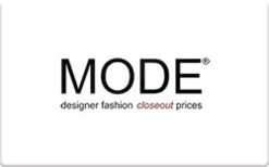 Buy MODE Stores Gift Card