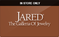 Sell Jared (In Store Only) Gift Card