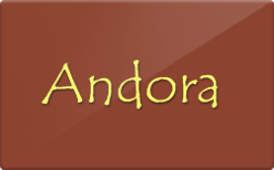 Sell Andora Restaurant Gift Card