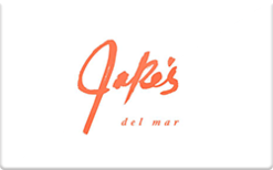 Sell Jake's Del Mar Gift Card