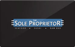 Sell The Sole Proprietor Gift Card