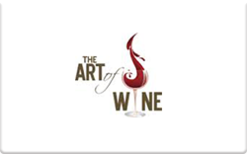 Sell The Art of Wine Gift Card