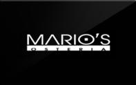 Buy Mario's Osteria Gift Card