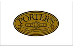 Sell Porter's Steakhouse Gift Card