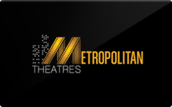 Sell Metropolitan Theatres Gift Card