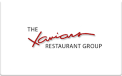 Sell Xaviars Restaurant Group Gift Card