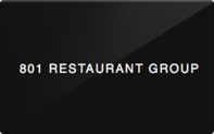 Buy 801 Restaurant Group Gift Card