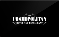 Sell Cosmopolitan Hotel and Restaurant Gift Card