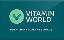 Buy Vitamin World Gift Card