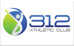 Sell 312 Athletic Club Gift Card