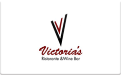 Sell Victoria's Ristorante & Wine Bar Gift Card