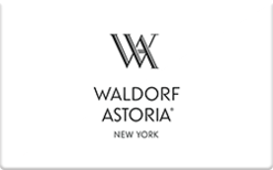 Buy Waldorf Astoria New York Gift Card