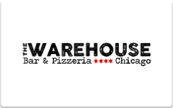 Sell The Warehouse Bar & Pizzeria Gift Card
