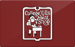 Sell College Hills Meat Shop Gift Card