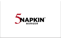 Buy 5 Napkin Burger Gift Card