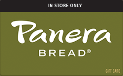 Sell Panera Bread (In Restaurant Only) Gift Card