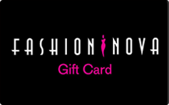 Sell Fashion Nova Gift Card