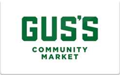 Sell Gus's Community Market Gift Card