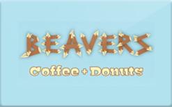 Buy Beavers Coffee + Donuts Gift Card