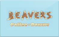 Buy Beavers Coffee + Donuts Gift Card