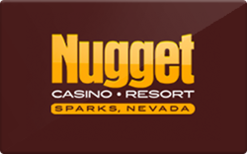 Sell Nugget Casino Resort Gift Card