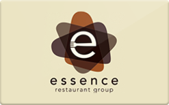 Sell Essence Restaurant Group Gift Card