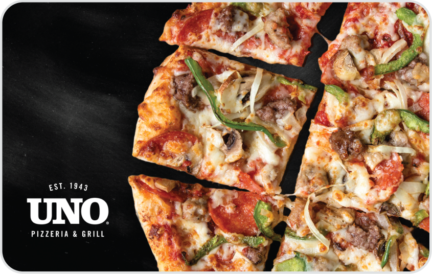 Uno Chicago Grill Card