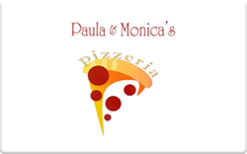Sell Paula & Monica's Pizzeria Gift Card