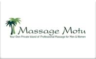 Buy Massage Motu Gift Card