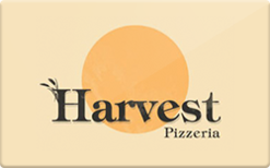 Sell Harvest Pizzeria Gift Card