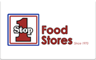 Buy 1 Stop Food Stores Gift Card