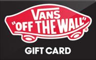 Buy Vans Gift Card