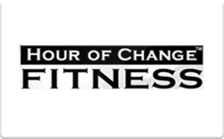 Sell Hour of Change Fitness Gift Card