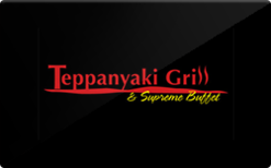 Sell Teppanyaki Grill & Supreme Buffet Gift Card