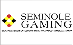 Sell Seminole Casinos Gift Card
