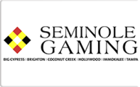 Buy Seminole Casinos Gift Card