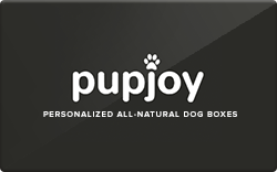 Pupjoy gift card