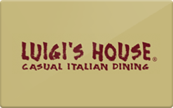 Sell Luigi's House Gift Card
