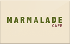 Buy Marmalade Cafe Gift Card