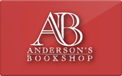 Sell Anderson's Bookshops Gift Card