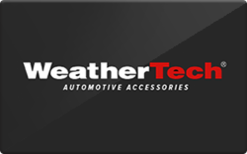 Sell WeatherTech Gift Card