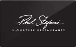 Sell Phil Stefani Signature Restaurants Gift Card