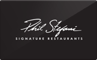 Buy Phil Stefani Signature Restaurants Gift Card