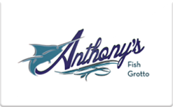 Sell Anthony's Fish Grotto Gift Card