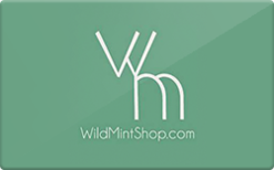 Sell Wild Mint Shop Gift Card