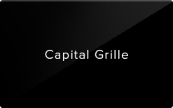 Sell Capital Grille Gift Card