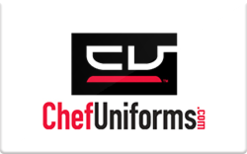 Sell ChefUniforms.com Gift Card