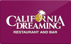 Sell California Dreaming Restaurant Gift Card